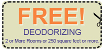 Free Deodorizing Coupon