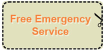 free emergency service coupon