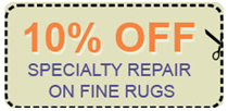 Rug repair coupon
