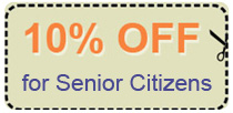 senior discount coupon - 10% off